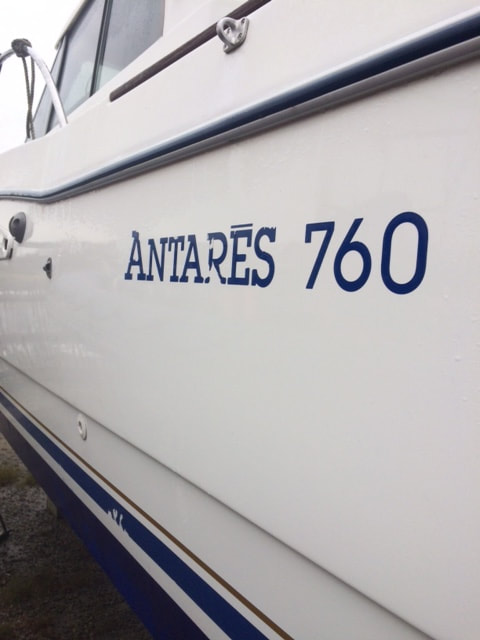 Beneteau Boat Decals - Decals for boats uk